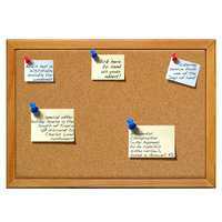 Soft notice message board
