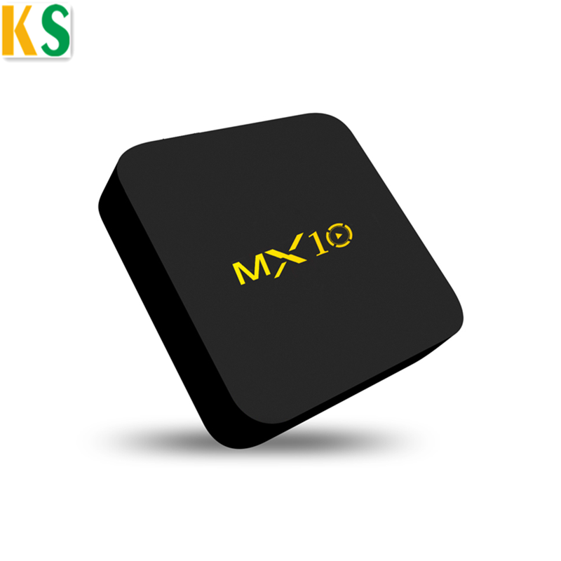 2018 Newest RK3328 Android 8.1 TV Box MX10 With 2.4G <strong>Wifi</strong>