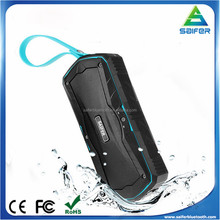 SAIFER S9 Outdoor Waterproof Bluetooth Speaker Portable Wireless Handsfree mini Stereo Speaker Power Bank with 4000mAh Battery
