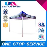 Nice Quality Lowest Price Unique Design Custom Printed Stand Up Tent