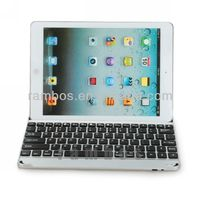 Aluminum Bluetooth Keyboard Metal Case Cover for iPad Air for iPad 5
