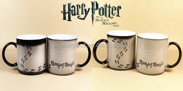 Collectible Harry Potter Heat Changing Mug