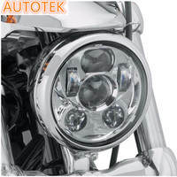 motorcycle front head light 4000 LM high /low beam for Harley 5.75 inch led motorcycle headlight