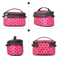2014 special designer cosmetic bag,cosmetic bag round hole egg box