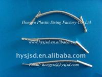 Factory Elastic rope with metal barbs/treasury tag rope