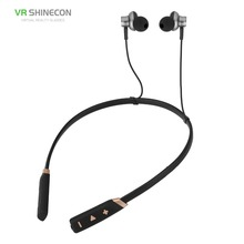 Running Sports Wireless Earphones BT 4.1 Stereo Bass In-Ear Headphones Headsets Earbuds with Mic