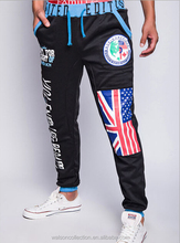 New Fashion men's skinny pants loose casual harem pants sports pants Sweatpants UK flag Printing trousers