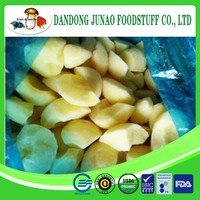 IQF freezing process frozen dried apple