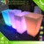 New design outdoor LED glowing flwor pot for garden