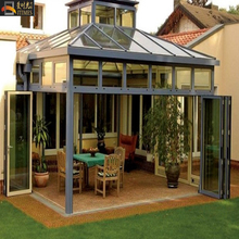 aluminum sunroom with polycarbonate panel