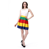 Competitive price hot saling Ladies mini skirt