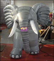 Hot sale giant inflatable animal/ inflatable elephant in attractive design