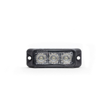 High quality Strobe Warning Led Grille Light bar Waterproof Led Light 9W Linear Surface Mount Lightbars for fire truck
