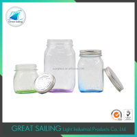 750ml glass bottle with metal lid