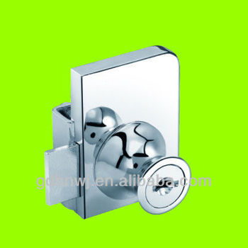 Zinc alloy chrome plated furniture lock/glass cabinet lock/ Multi-purpose lock 409 (DL409)