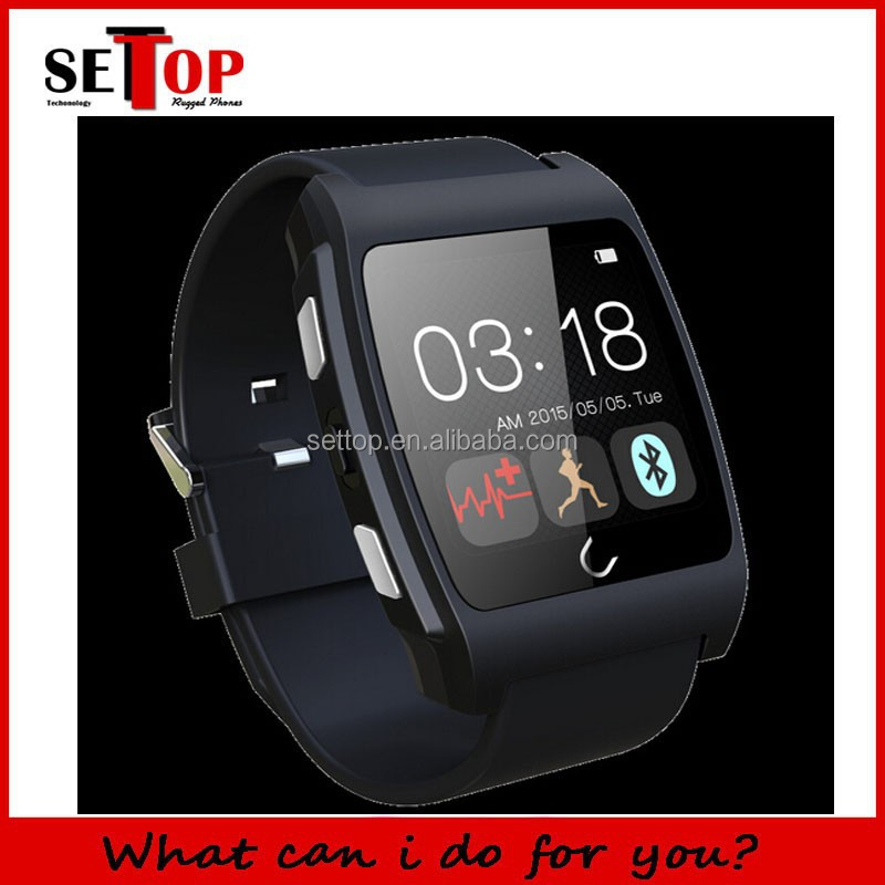 NFC Smart watch UX Uwatch Anti Lost Sport Health with Heart Rate Monitor