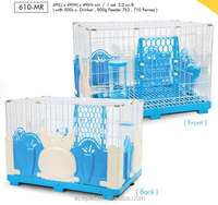 Rabbit Cage with Rabbit-Style Fences drinker and feeder included