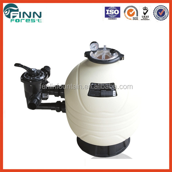 High quality side-mount plastic Emaux sand filter for water treatment