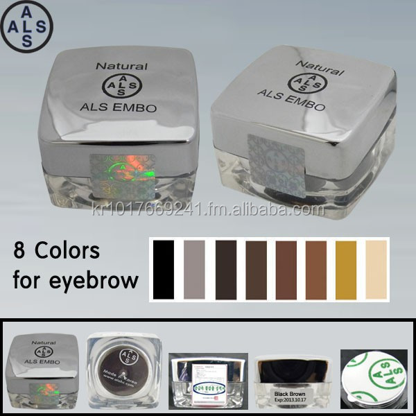 Permanent makeup pigment & Tattoo ink & Permanent makeup ink (Natural Embo)
