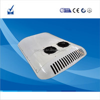 Hot Selling high quality 12volt 24v 15KW roof top mounted bus air conditioner system for minibus cooling on sale