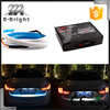New dual color sequential car led trunk light with Side Turn Signals Rear lights LEDs Strips Car Braking light car-styling