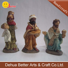 Wholesale Polyresin Religious Craft Holy Famialy Christmas Nativity set