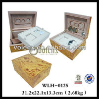 China Handmade Wooden Watch Box with High Gloss Finish (SGG&BV)