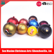 Customized plastic ball wholesale christmas decoration