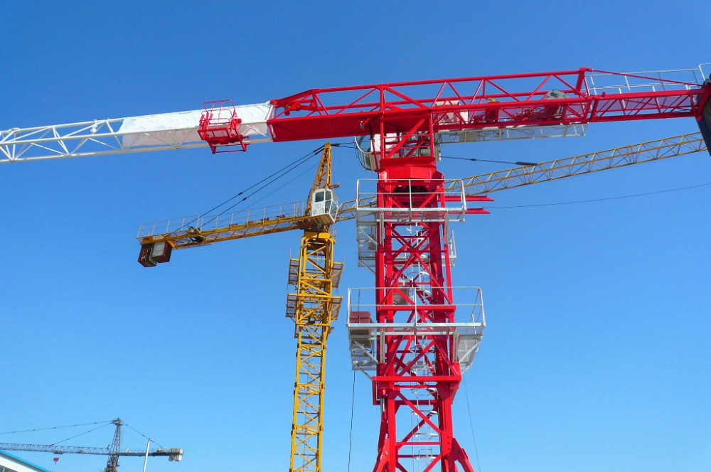Tower Crane Uses : Qtz tc ton used tower crane manufacturers and