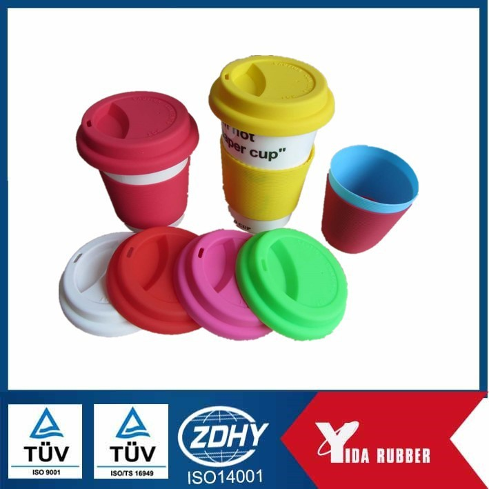 silicone cup lid/silicone coffee cup lids/silicone cup cover