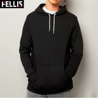 Newest Factory Price Black Wholesale Hoody Man Gym Hoodie Men