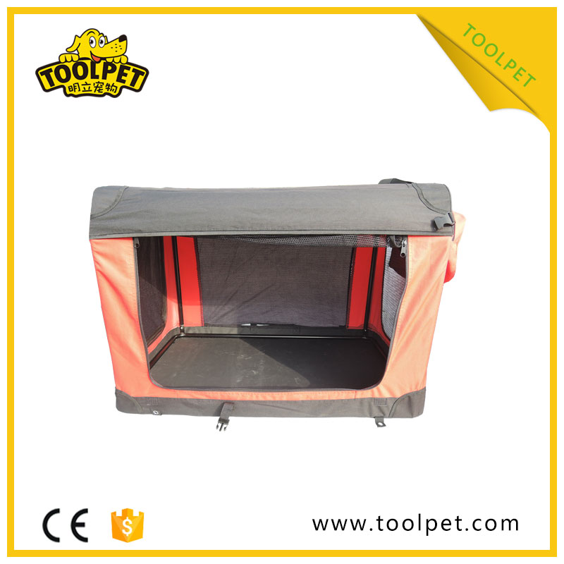 Popular Durable pet crate soft big dog carrier