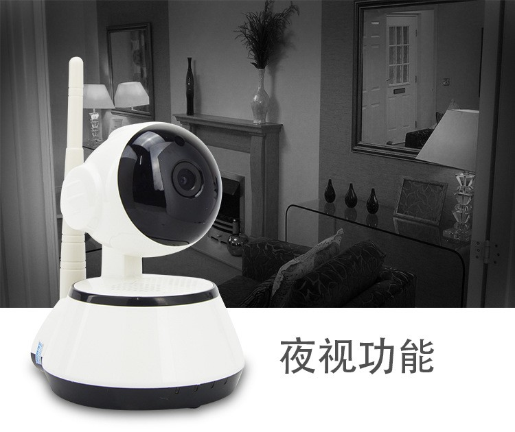 Syart factory customized LOGO Wi-Fi Wireless HD Indoor Video Monitoring Phone Surveillance Camera Remote monitoring