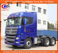 430HP 10 wheeler FOTON tractor head Heavy duty prime mover FOTON tractor truck for sale