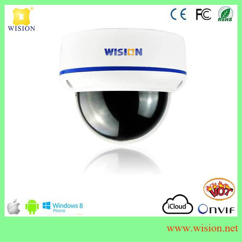 easy to install and access on Android or iphone remote view 5Megapixel fisheye IP security financial industry cameras