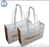 shopping non woven bag used for packing shoes,garment packing bags non-woven Bag with Logo