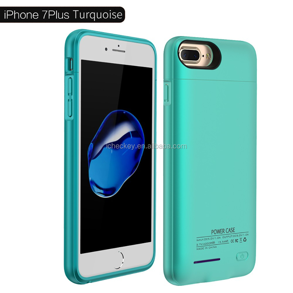 2017 Elegant Ultra Slim Power Bank Battery Backup Case Charger Cover For iPhone 7/7 Plus