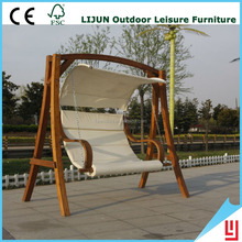 Hanging Outdoor Glider Wooden Best Garden Swings For Adults