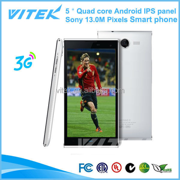 5.0'' IPS panel made in China quad core 2g ram handphone