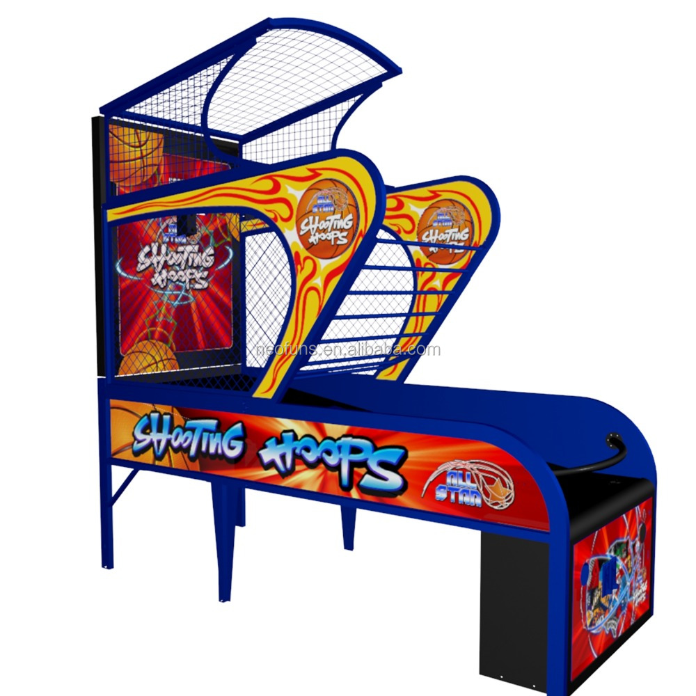 NF-R09 Extreme Hoops Basketball game machine for Adults, Electronic Basketball Game Machine, Two Players Basketball Hoop Arcade