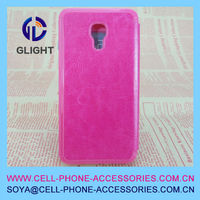 2014 sublimation leather cell phone case for s4/i9500