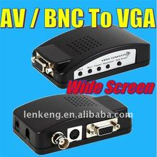 RCA to vga converter, wide screen support