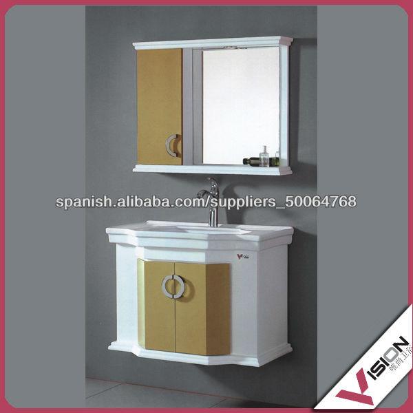 baos gabinetes de bao de pvc moderno gabinete del espejo en la pared baos gabinetes modernos