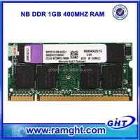 ETT original chips and chinese laptops memory ddr 1gb ram