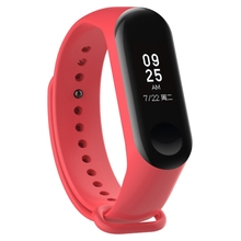 2019 new arrivals sport band for Xiaomi Mi band 3 silicone strap