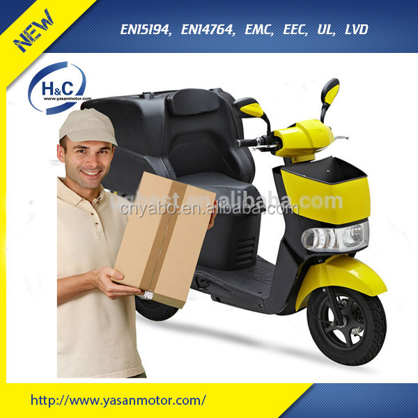 EEC approval 60V/28AH LG lithium battery 3000W food delivery scooter electric with delivery box