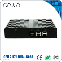 2117U best sell win7 barebones mini pc classical embedded pc barebone case