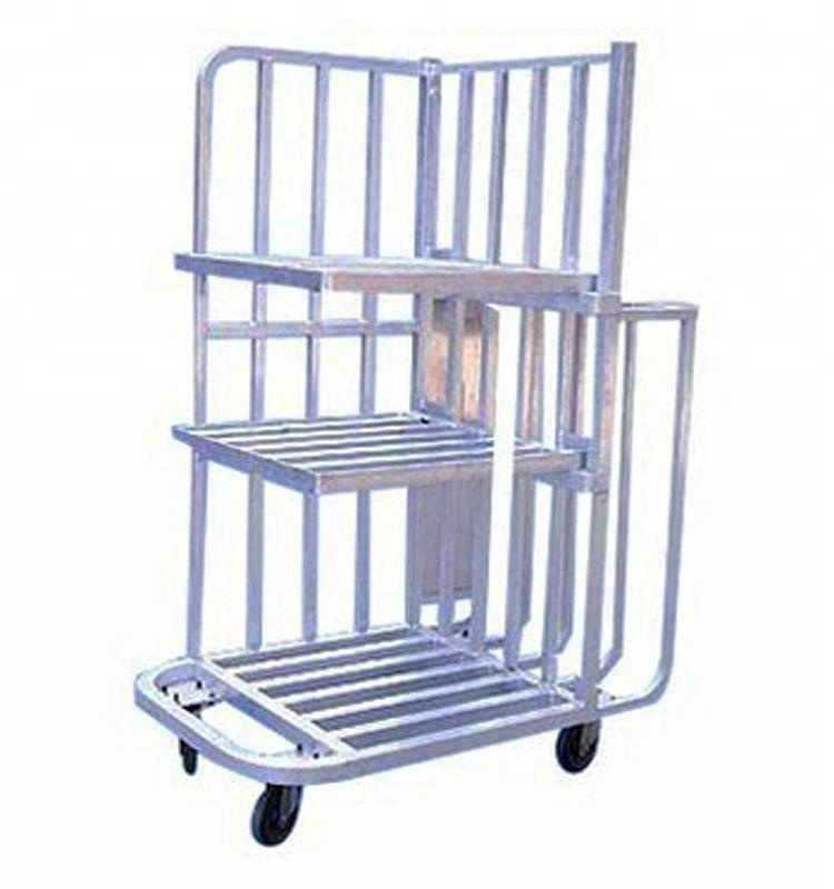 Customized Aluminium Trolley Foldable Aluminium Trolley, Welded Structure