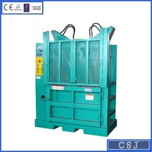 Double oblique cylinders design hydraulic press machine for rice straw