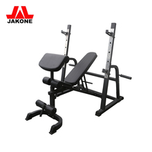 Home gym fitness equipment adjustable incline weight bench press bench